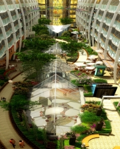"""Oasis of the Seas onboard """"Central Park"""""""