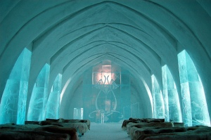 Wedding Chapel: Hotel de Glace