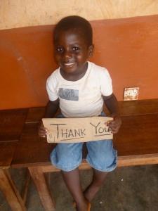 A friend in Ghana
