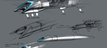 Hyperloop image: SpaceX