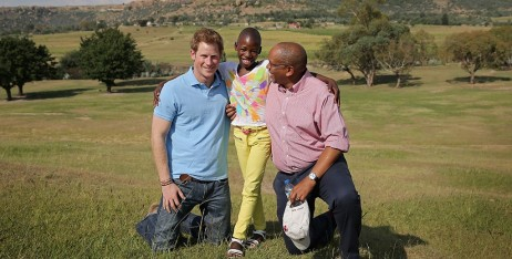 Prince Harry and Prince Seeiso. Photo: Sentebale.org