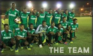 Darfur United team. Photo: darfurunited.com