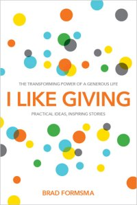 book cover for I Like Giving stories about generosity