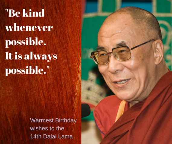 Birthday Quotes Dalai Lama: Change By Doing