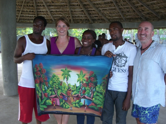 From my second post-earthquake voluntourism trip to Haiti in 2012